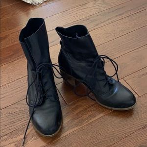 Steve Madden Leather Gretchen Booties